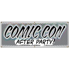 Comic Con After Party banner image