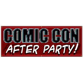 Comic Con PIXELS After Party banner image