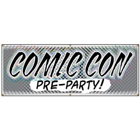 Comic Con Pre Party banner image