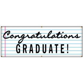 Congratulations Graduate lined banner image