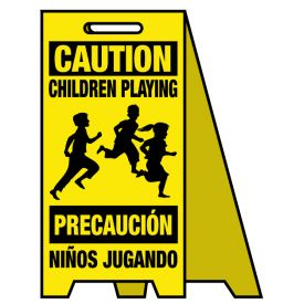 Coro A-frame Caution Children Playing sign image