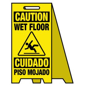 Coro A-frame Caution Wet Floor sign image