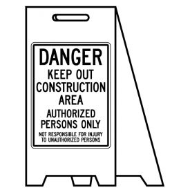 Coro A-frame Construction sign image