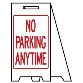 Coro A-frame No Parking Anytime sign image