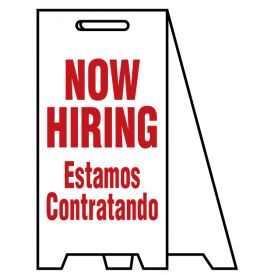 Coro A-frame Now Hiring sign image