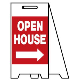 Coro A-frame Open House sign image