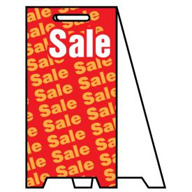 Coro A-frame Sale 2 sign image