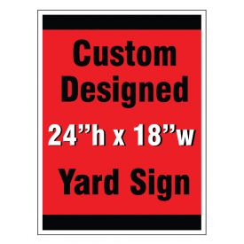 Custom design yard sign 2 image