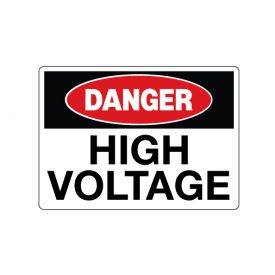 Danger High Voltage image