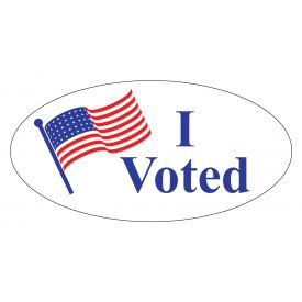 I voted sticker image