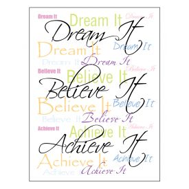 Dream It Canvas print image