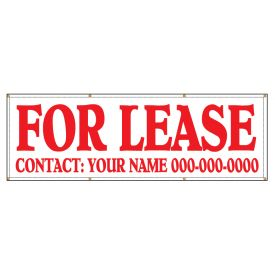 For Lease 48 x 144 banner image