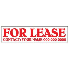 For Lease 48 x 200 banner image