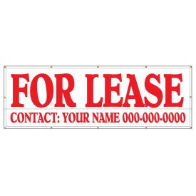 For Lease 60 x 180 banner image