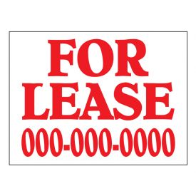 For Lease yard sign image