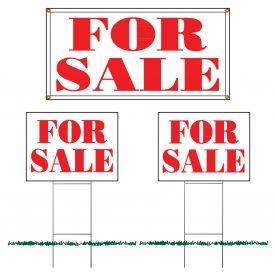 For Sale sign set image