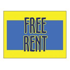 Free Rent sign image