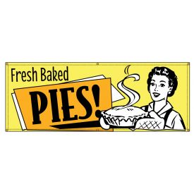 Fresh Baked Pies Retro banner image