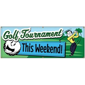Golf Tournament Retro banner image