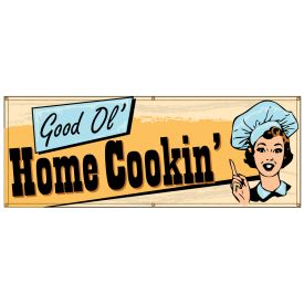 Good Ol' Home Cookin' Retro banner image