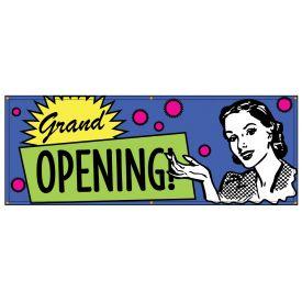 Grand Opening Retro banner image