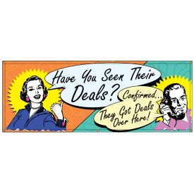 Deals Over Here Retro banner image