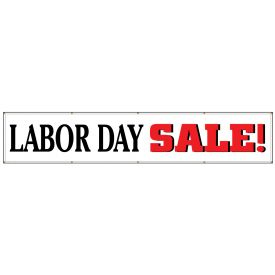 Labor Day 3'x16' banner image