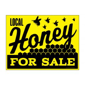 Local Honey sign image