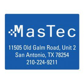 MasTec SA 36x48 sign image