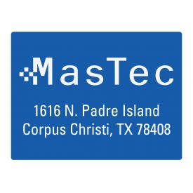MasTec 2 36x48 sign image