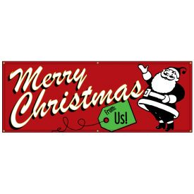 Merry Christams Retro banner image