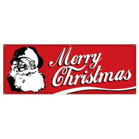 Merry Christmas Retro banner image