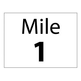 Mile 1 sign image