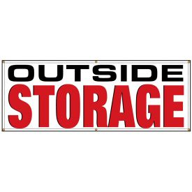 OUTSIDE STORAGE banner image