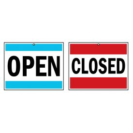 Open Closed 3 sign image