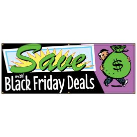 Black Friday Deals Retro banner image