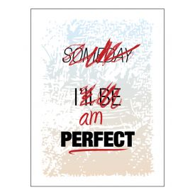 Someday I'll Be Perfect Edited Canvas print image