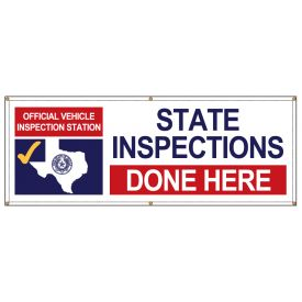 State Inspections Done Here Texas banner image