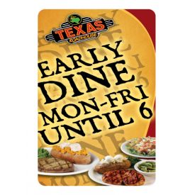 Early Dine sign image
