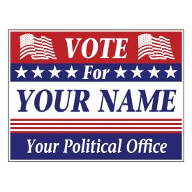 Vote For You sign image