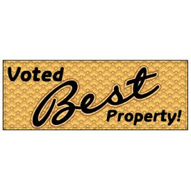 Voted Best Property banner image