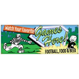 Watch Games Here Retro banner image