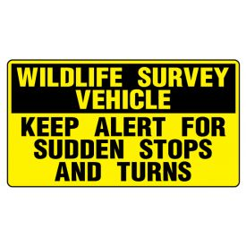 Widlife Survey sign image