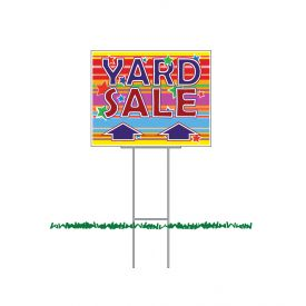 Yard Sale Straight Arrow sign image