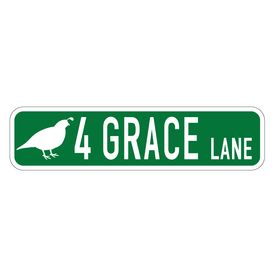 4 Grace Lane custom sign image