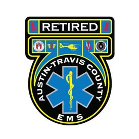 Retired Austin Travis County EMS decal image