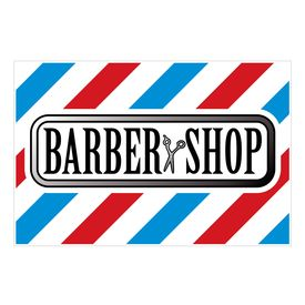 Barbershop yard sign image