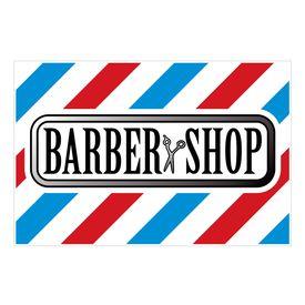 Barbershop yard sign image