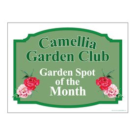 Camellia Garden Club v5 yard sign image