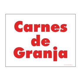 Carnes de Granja sign image